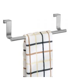 Forma Over-the-Cabinet 9 Inch Stainless Steel Dish Towel Bar Holder