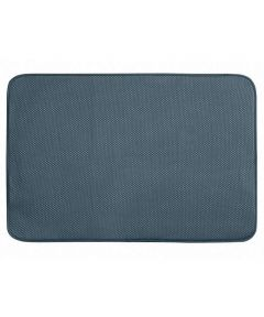 iDry Extra Large Kitchen Dish Drying Mat, Pewter Gray, 24x18 Inches