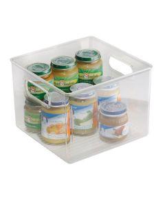 Linus Kitchen Pantry Storage Binz, Clear, 8x8x6 Inches