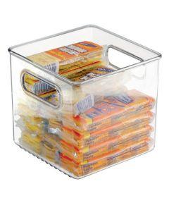 Linus Kitchen Pantry Storage Binz, Clear, 6x6x6 Inches