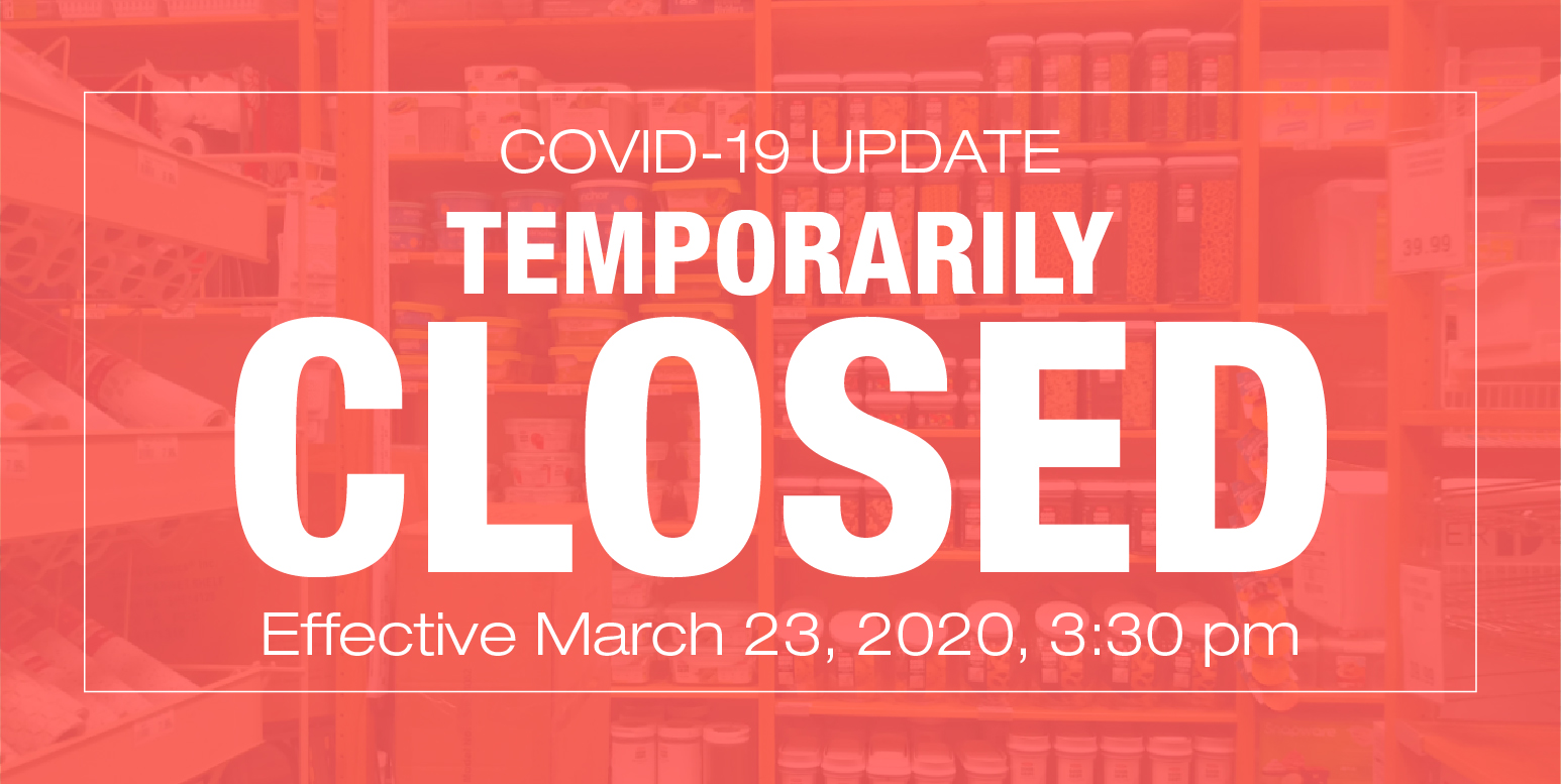 SIMPLY ORGANIZED COVID-19 UPDATE TEMORARILY CLOSED