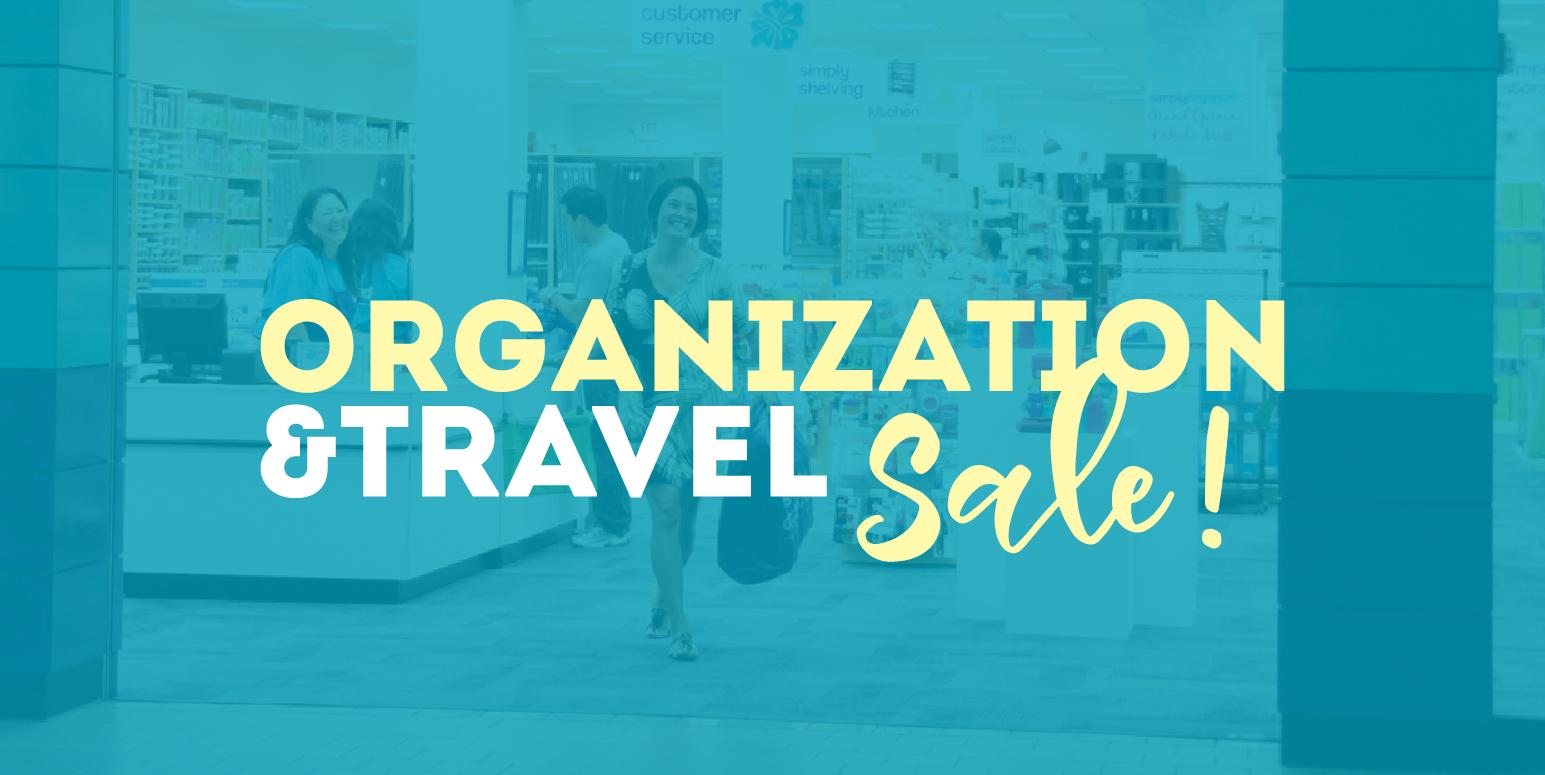 Simply Organized Organization Travel Sale