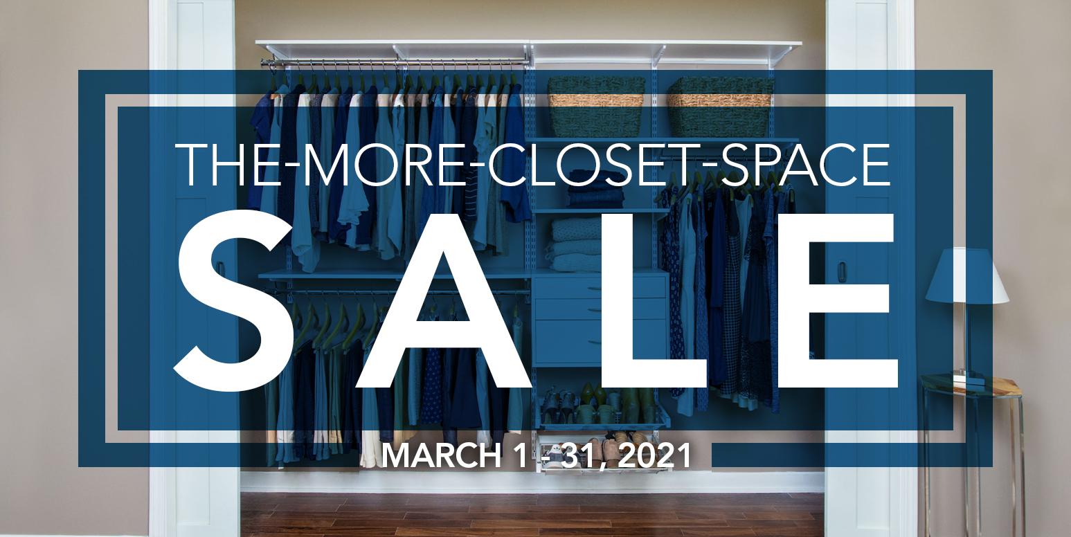 Simply Organized Closet Sale
