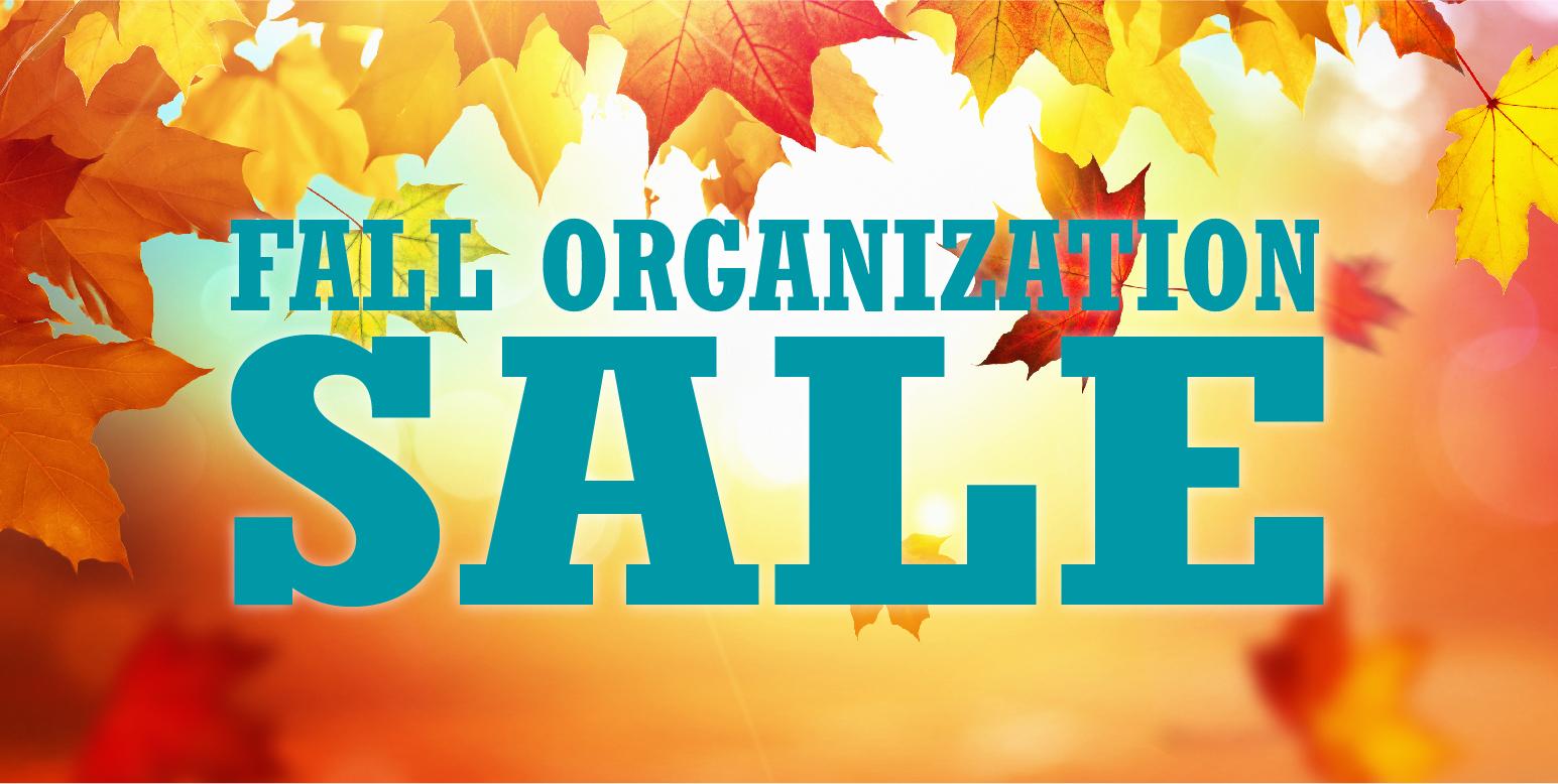 Simply Organized Fall Organization Sale