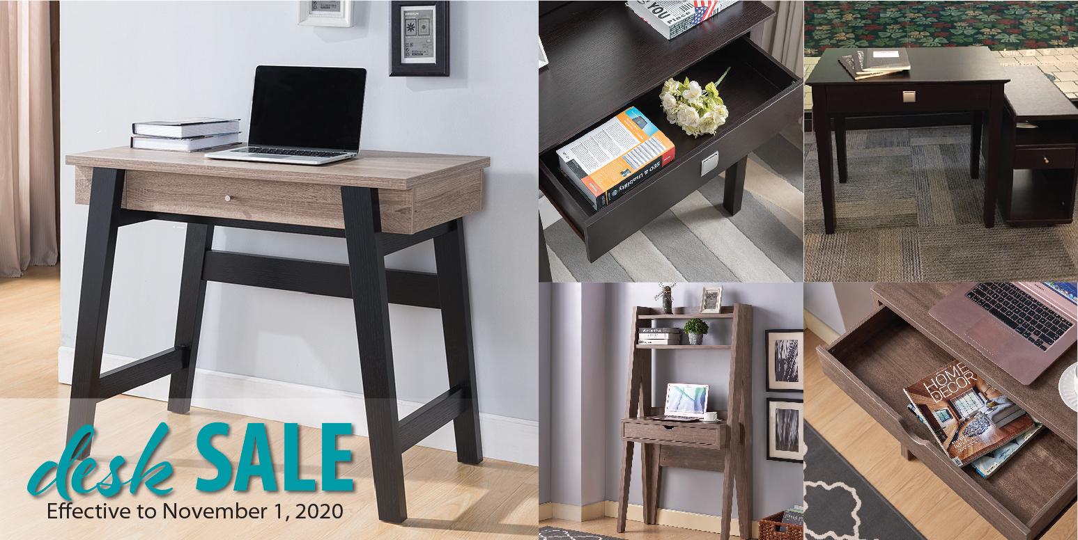 Simply Organized - Desk Sale 10/15-11/1/20