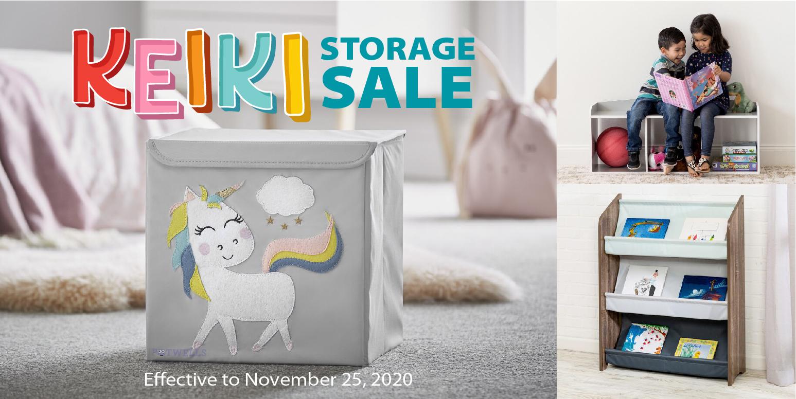 Simply Organized - Keiki Storage Sale 10/19-11/25/20