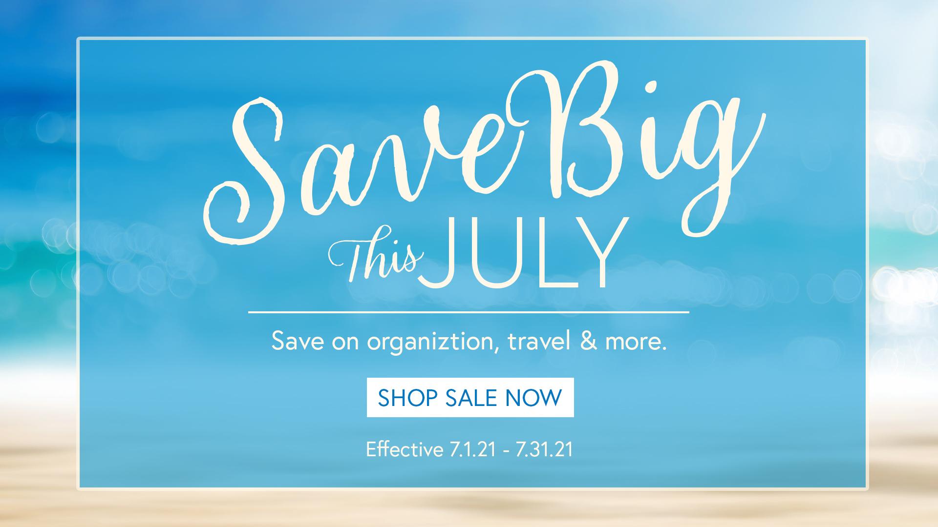 Simply Organized July Sale