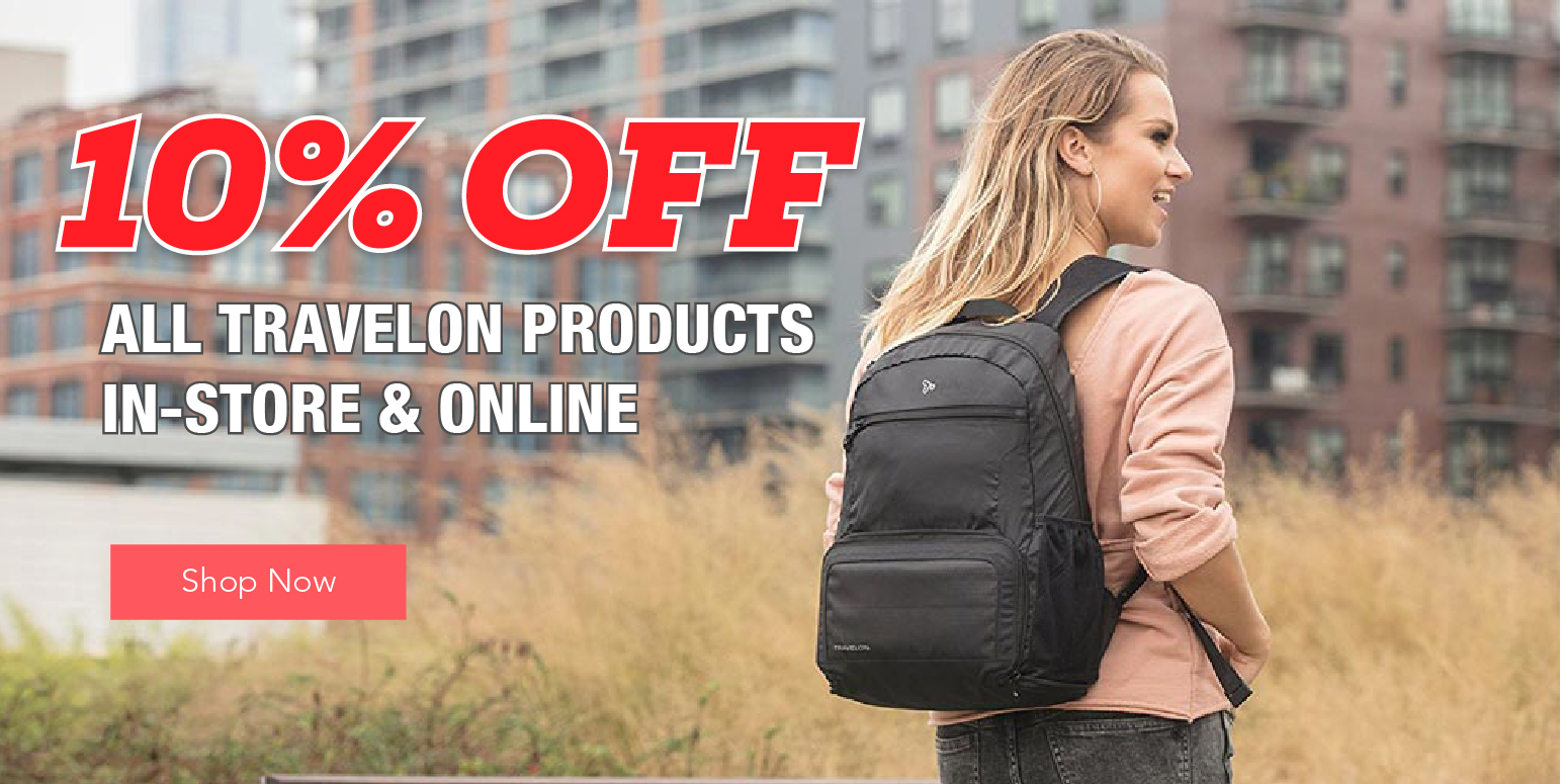 SO 10% Off Travelon Products