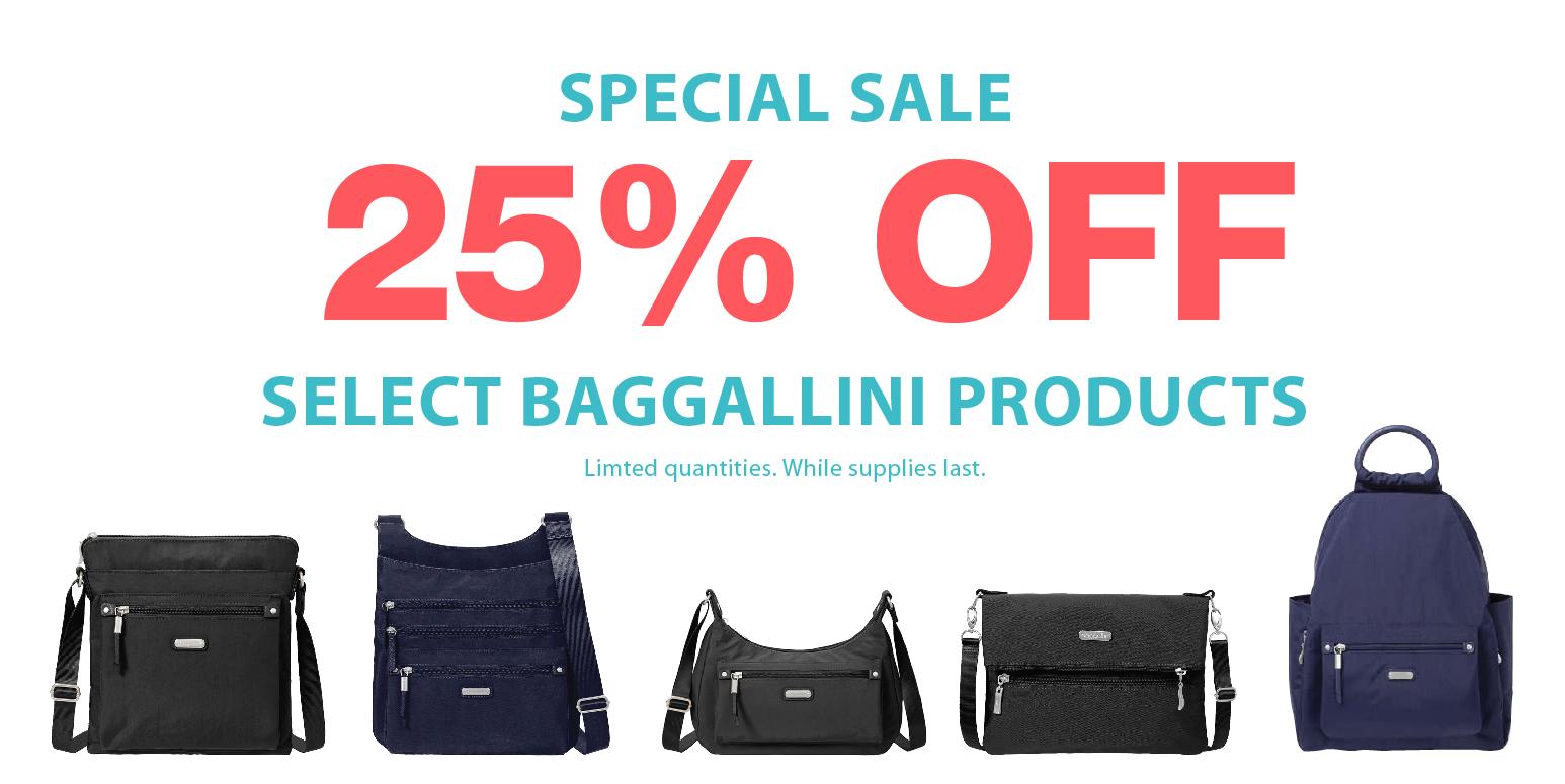 Simply Organized 25% Off Baggallini Sale