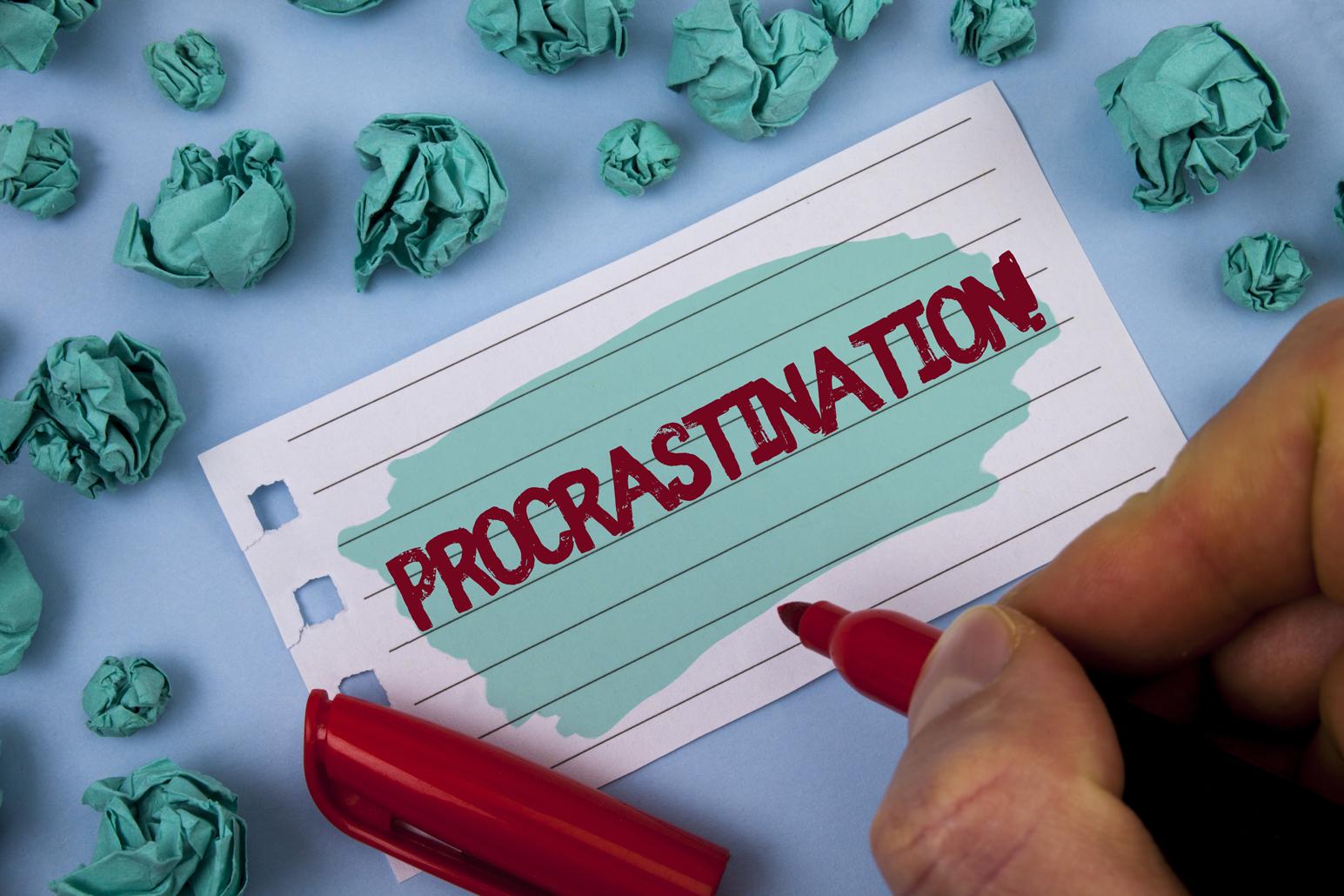 10 Tips for Overcoming Procrastination